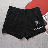 Underpants Cotton Men Briefs Low Rise Tracksuit Home Pants Casual Shorts Comfy Boxer Sport Underwear Fashion Male Lingerie Gay Sissy