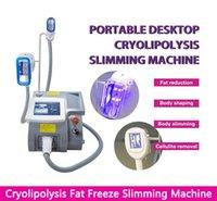 Cryolipolysis 뚱뚱한 동결 슬리밍 기계 Cryolipolysis Cool Lipo Freeze Fat Fatze Body 슬리밍 기계 3 사이즈 핸들