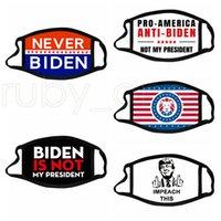트럼프 2024 선거 파티 마스크 대통령 Biden 헝겊 얼굴 마스크 트럼프 코튼 방진 세척 천 마스크 5 스타일 RR4080