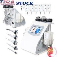 USA estoque 40k ultrassom ultrassonic máquina rf emagrecimento corpo contorno de enrugamento de rugas equipamentos de spa