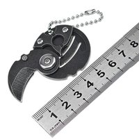 Мини-монет нож ключ пряжка подвеска складной нож кемпинга защита EDC открытый многофункциональный инструмент нож HW146