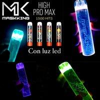 Maskking High Pro Max Disaposable Pods Device Kit E-cigarettes 1500 Puffs 850mah Battery 4.5ml Prefilled Cartridge Pod Vape Stick Pen VS MK GT Kits