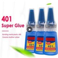 401 Super Nails Kleber für DIY Handwerk PVC Kleber Haushaltswaren Instant Klebeflasche Für Wohnaccessoires Bürobedarf Nägel Kunst Dekoration Gel