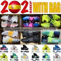 + حقيبة رجل كرة قدم مستقبل z 1.1 fg mg tf متماسكة الجوارب أحذية كرة القدم المرابط أسود أبيض أصفر أخضر أزرق أزرق أورانج الوردي الأحذية المنخفضة botas de futbol حجم US7-11.5