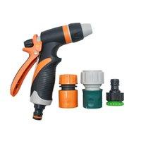 Spray Water Water Airing Multi-Function Auto Lavaggio Acqua Pistola ad alta pressione 1/2 3/4 Tubo flessibile Splinding Water Ugello Giardino 1 Set