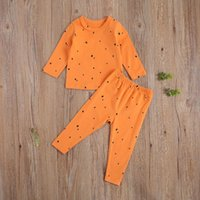 Clothing Sets Pudcoco Toddler Baby Clothes Star Moon Dot Heart Pattern Crew Neck Long Sleeve Round Pullover Tops Pants 2Pcs Outfits
