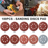 Care Products 100pcs Hook &Loop Sanding Pad For Wood Assorted Wet Dry Polishing Wet Dry Sandpaper Waterproof Sand Paper