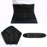 Belt Waist Trainer Thermo Sweat Girdle Corset Women Tummy Shapewear Fat Modeling Strap Waist Trainer Body Shaper DWE7477