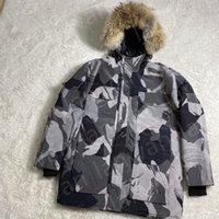Mens Down Jacket Parkas Winter Frio Outerwear Proteção Casaco à prova de vento ao ar livre com manter quente e confortável engrossar gola de pele de alta qualidade engrossa cerca de 2 kg