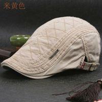 HT599 100% Cotton master Gatsby Cap Newspaper boy Ivy hat Vintage Gorras Casquette hats for women Unisex Basque cap master Cabbie hats