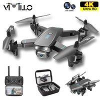 Vimillo S173 Drohne mit 4K professioneller HD Dual Kamera Faltbare RC Quadcopter Wifi FPV DRON CON Copter Spielzeug Geschenk VS S167 SG107