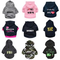 Dog apparel Security Clothes Little Hoodie Jas Chihuahua Sweatshirt French Bulldog Warm Puppy Clothing Capuchon For XS-L 0713