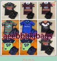 Wests Tigers Rugby Jerseys Kit Kit 2021 22 Brisbane Broncos Penrith Panthers Canberra Astaulter Child Nrl League
