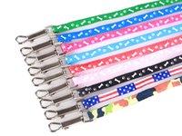 Arnés de perro correas collar mascota cuerda corbata collar 11 color impreso ajustable mascota collar cachorro gato animales accesorios wll347