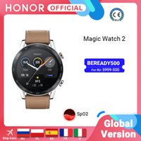 Designer Luxury Brand Watches Version Honor Magic 2 Smart Bluetooth5.1 Smart Blood Oxygen Impermeable 14 days Heart Rat para Android iOS