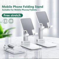Soporte de soporte para teléfono móvil para iPhone X 11 12 Xiaomi Samsung Soutars Standstand Escritorio para iPad Tableta Persona perezosa Soporte portátil