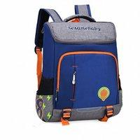 Bolsas de escuelas ortopédicas frescas y encantadoras para niños para niñas cosiendo mochilas lindas de la mochila a prueba de agua ligera 8232 #