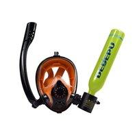 Оборудование Diving Free Gear Set Cilinder Dedepu Продукты для подводного плавания Открытые Развлечения Мини-акваланги Работающий Баксер