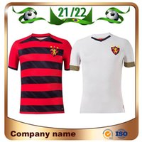 21/22 Spor Kulübü Recife Futbol Formaları 2021 Ev Hernane Sander Yago Luan Artur Augusto Gömlek Üçüncü Futbol Üniforması