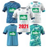 جديد 2021 البلوز سوبر الركبي جيرسي التدريب الفانيلة الوطنية الركبي الدوري قميص زيلندا البلوز أداء المحملة القميص قمصان حجم S-3XL