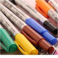 Постоянный двойной головной маркер черный синий красный фиолетовый граффитический маркер ручки для прививки рисунок поставляет Art Jllvbi