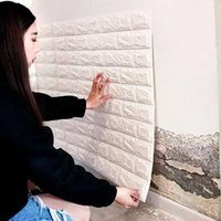 Wall Stickers Special Size 3D Self-adhesive Wallpaper Waterproof Brick Pattern TV Background Sticker Renovation