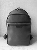 Brand Shoulder Packs Luxo Meninos Big Packpack Designers Classic Letter Student Homens Dupla Ao Ar Livre Capacidade de Viagem Sacos S Eqvjm