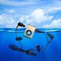 & MP4 Players Mini Waterproof Swimming MP3 Player Sports Running Horse Riding Sereo Walkman Music With FM Radio Hi-Fi Clip