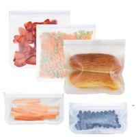 Холодильник Пищевая сумка Многоразовая вакуумная силиконовая пищевая еда свежие сумки уплотнители молока фруктовые мясные мешки для хранения мешок для организатора DHE4809