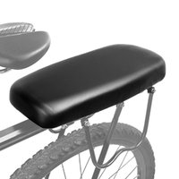 Selles de vélo de bicyclettes de bicyclette cyclisme vélo MTB montagne PU cuir doux coussin confortable rack rack pad enfants