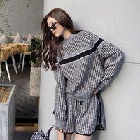 Personalità Lettera Donne Donne due Pantaloni da due pezzi Style Style Lady Lady Suits Regalo di compleanno per Amiche Abiti Trendy Suit