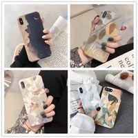 Funda Redmi K30 K20 Nota 8 7 Pro Custodie per Xiaomi MI 8 SE 9 9SE 10 Lite 9T Pro Telefono Custodia Cute Graffit Leaf Hard Back Cover Capa