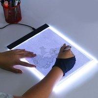 LED Işık Kutusu A4 Çizim Tablet Grafik Yazma Dijital Tracer Kopyalama Pad Kurulu Elmas Boyama Kroki X-Ray Viewer 1 ADET