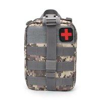 Tactical Medical Primeiros Socorros Kit Utility Bolsa Tratamento Médico Cintura Multifuncional Molle Exército Caça Emergência Saco Para Molle Vest Belt Backpack