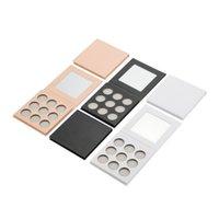 Oogschaduw groothandel cosmetische aangepaste label oogschaduw lege palet 9 kleuren diy carboard make-up paletten verpakking dozen