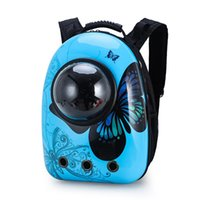 Cat Carriers,Crates & Houses Cartoon Pet Backpack Cute Transporter Bagpack Outdoor Travel Handbag Window Breathable Cage Mochila Gato Bag AC