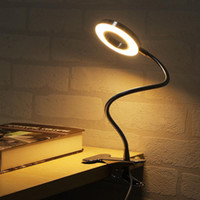 LED Desk Lamp with Clamp Dimmable Reading Light Eye- Care USB...