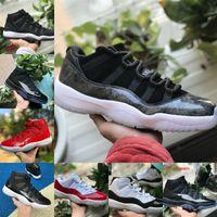Air Jordan 11 retro jordans Nike Verkauf New Bred 11s 11 Männer Frauen Basketballschuhe Concord 45 Ostern Platinum Tipt Cherry Cap and Gown Space Jam