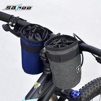 Cycling Bags Bicycle Handlebar Kettle Bag 0.5L 600D Polyester Heat Retention Pocket Bike Aluminum Foil Insulation Sack Bottle Pouch