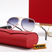 Yüksek Kaliteli Tasarımcı Bayan Güneş Gözlüğü Lüks Antik Güneş Gözlüğü Erkek Moda Sürüş Polaroid Lensler Gözlüklü Kutusu Ile Sadebral 20 Renkler