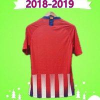 Giocatore Versione 18 19 Soccer Jerseys Vintage 2018 2019 Retro Camicie da calcio Home Red Bianco Thai Qualità Thai