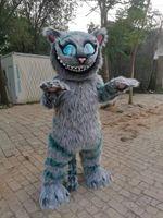 ハロウィーンカーニバルパーティーサポートのカスタマイズのための実画図Cat Mascot Costume Fancy Dress