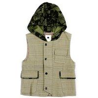 Weste Kinder Hoodies Warme Jacke Baby Jungen Oberbekleidung Mäntel Kinder Weste Denim 3-10Y 4J0463