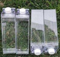 مطبخ مانعة للتسرب الإبداعية حليب شفاف زجاجة مياه الشرب تسلق جولة التخييم الأطفال الرجال حليب زجاجات المياه 61 v2