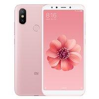 """Original Xiaomi MI 6x 4G LTE Téléphone mobile 6GB RAM 64GB 128GB ROM SNAPDRONGON 660 AIE OCTA CORE Android 5.99 """"Plein écran 20.0mp ai HDR Face ID Tonier cellulaire intelligent"""