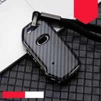 Для Kia 2018 2019 Sportage R Stinger Remote Remote Sorento Cerato Forte Protect Key Shell Shell сплав цинковый + силикагель полная крышка ключ ключа