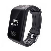 K1 Fitness Tracker Sport Smart Armband Herzfrequenz Monitor Wasserdichte Smart Watch Aktivität Armbanduhr für iPhone ios Android Telefon Uhr