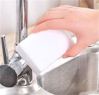 100 шт. Melamine Губка Волшебная Губка Ластик Лазер Чистящие губки для кухни Ванная комната Инструменты для чистки 10 * 6 * 2 152 v2