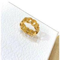 2021 Fashion Designer Jewelry Band Gold Band Lettera Anelli Amore Hoop per Lady Donne Party Wedding Rame Amanti amanti del fascino regalo Gioielli di fidanzamento di lusso con scatola