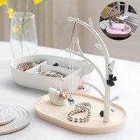 Łazienka Organizacja Swan Biżuteria Rack Pink Girl Heart Box Lake Collection 2021 # 25